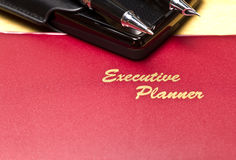 Executive Planner Series V Stock Images