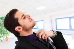 Executive relaxing Royalty Free Stock Images