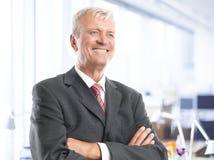 Executive senior businessman Stock Photography