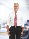 Executive senior businessman Stock Photos
