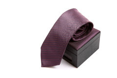 Executive silk tie Stock Images