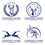 Executive Stag Logo Concept Royalty Free Stock Images
