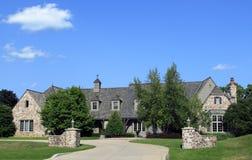 Executive Stone Estate Royalty Free Stock Images