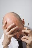 Executive stress Royalty Free Stock Photo