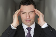 Executive Stress Royalty Free Stock Photography