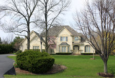 Executive Suburban Estate Stock Photography