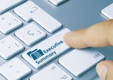 Executive Summary - Inscription on White Keyboard Key