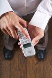 Executive telephoning Stock Photography