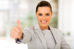 Executive thumb up Stock Image
