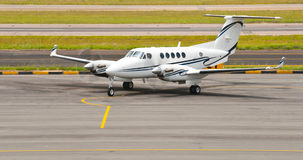 Executive Twin Aircraft Stock Image