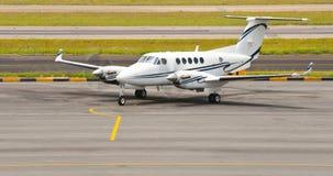 Executive Twin Aircraft stock image