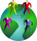 executive värld Arkivbilder