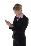 Executive and the Wireless Office Royalty Free Stock Photography