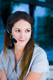 Executive woman on the phone Royalty Free Stock Photos