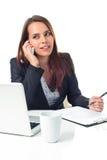 Executive woman on the phone Royalty Free Stock Photos