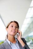 Executive woman at work Stock Images
