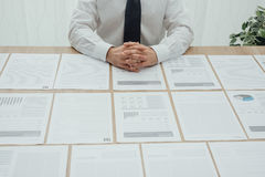 Executive working in the office Royalty Free Stock Image