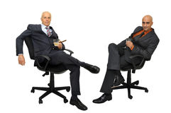 The executives Stock Image