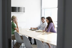 Executives In Conference Room Royalty Free Stock Image