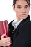 Executivo com tapete vermelho Fotos de Stock Royalty Free