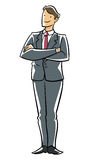 Executivo da confiança. Fotografia de Stock