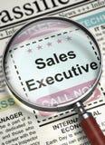 Executivo de vendas querido 3d Foto de Stock Royalty Free