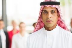 Executivo empresarial islâmico fotografia de stock royalty free