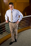 Executivo empresarial novo imagem de stock royalty free
