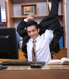 Executivo empresarial novo Fotografia de Stock