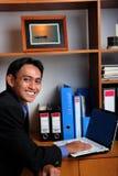 Executivo empresarial novo Fotos de Stock Royalty Free