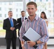 Executivo empresarial novo confiável Imagem de Stock