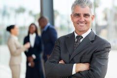 Executivo empresarial superior Fotos de Stock