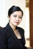 Executivo fêmea novo imagem de stock royalty free