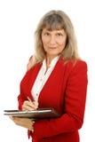 Executivo fêmea sério Foto de Stock