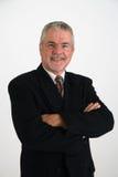 Executivo feliz imagem de stock