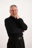 Executivo feliz foto de stock