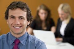 Executivo feliz Fotos de Stock