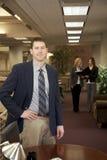 Executivo novo confiável imagem de stock