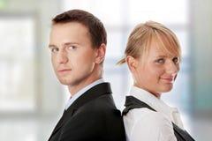 Executivos atrativos novos foto de stock royalty free