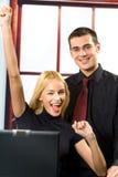 Executivos bem sucedidos Foto de Stock Royalty Free