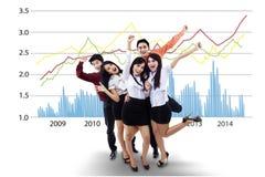 Executivos bem sucedidos Fotografia de Stock Royalty Free