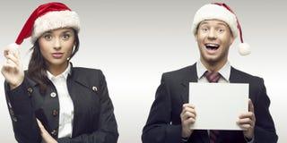 Executivos bem sucedidos novos Imagem de Stock