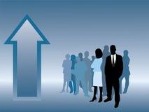 Executivos com sucesso Imagens de Stock Royalty Free