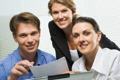 Executivos confiáveis Fotografia de Stock