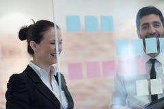 Executivos criativos novos Fotografia de Stock