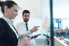 Executivos criativos novos Imagens de Stock