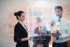 Executivos criativos novos com CEO superior Fotos de Stock Royalty Free
