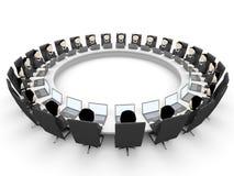 executivos 3D Fotos de Stock Royalty Free