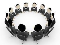 executivos 3D Fotografia de Stock Royalty Free
