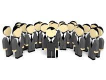 executivos 3D Imagens de Stock
